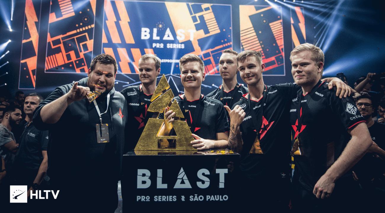 Astralis win BLAST Pro Series São Paulo 2019