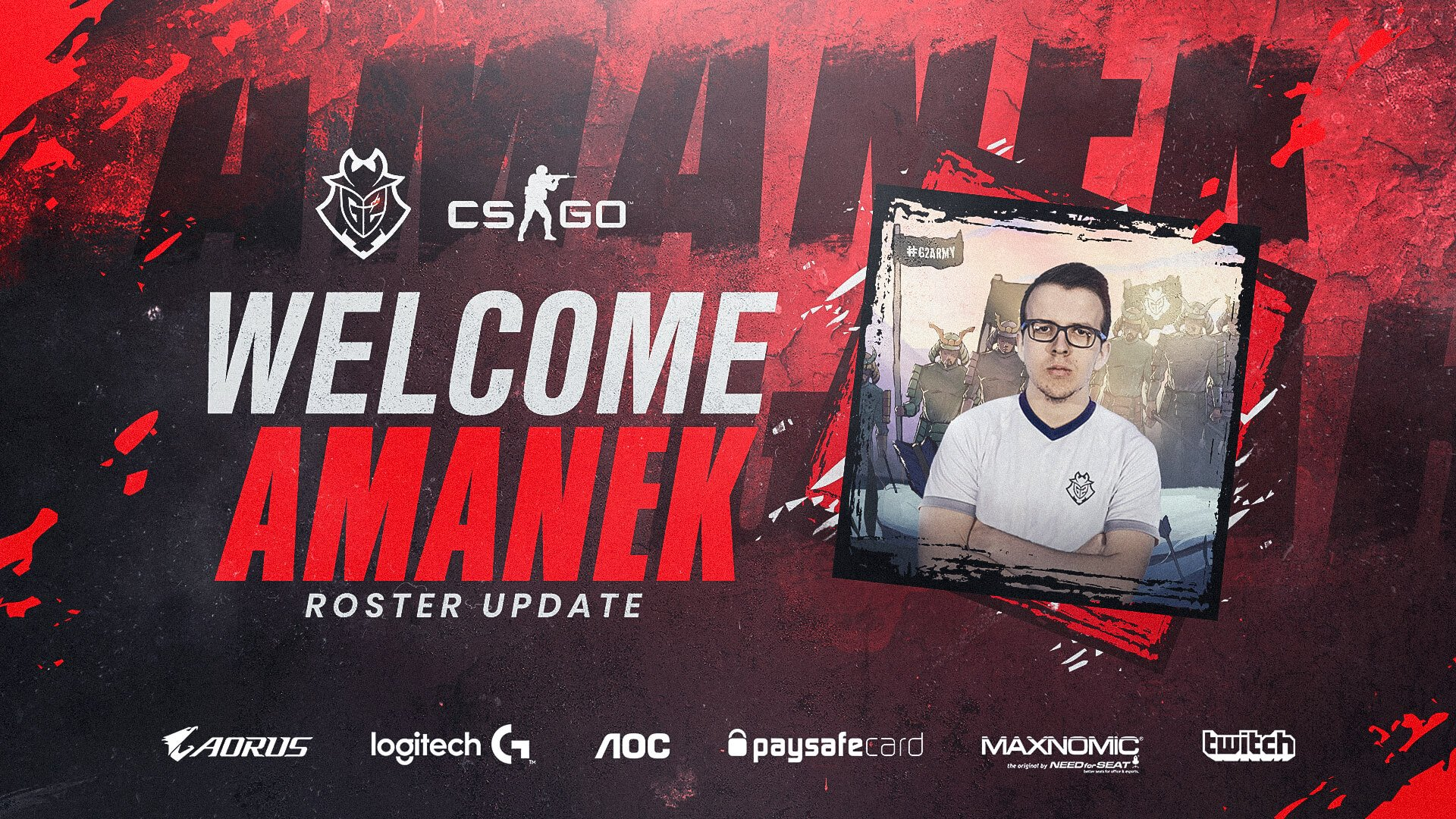 AmaNEk to Join G2 Roster, Bodyy Has To Go?