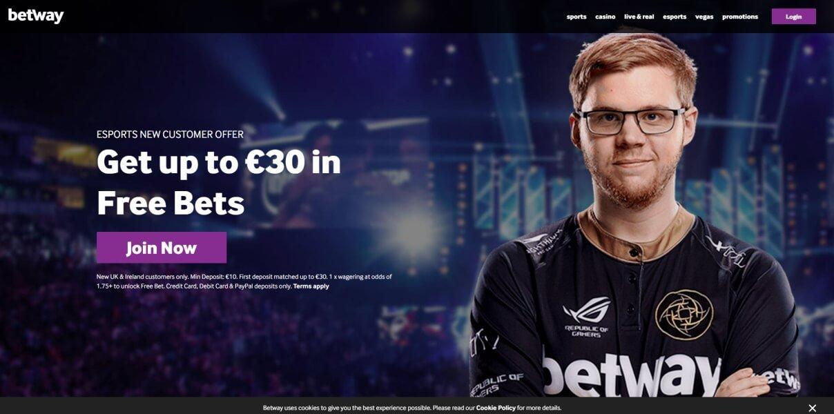 Betway Esports Betting