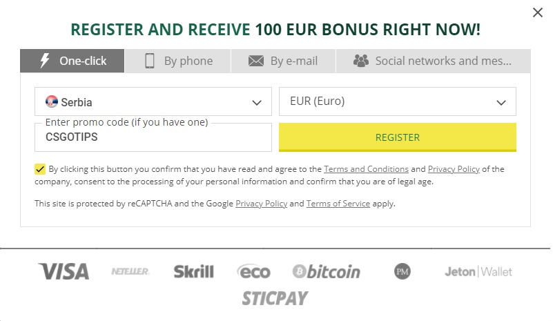 how to sign up for an account with betwinner