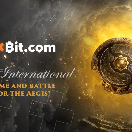 The International (DOTA 2) With 1xBit